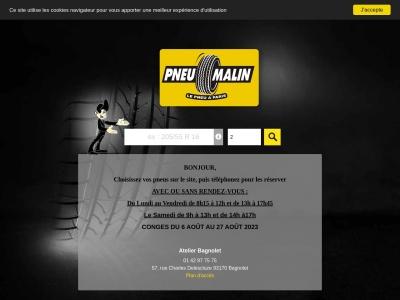 Pneu Malin, le spécialliste du pneu