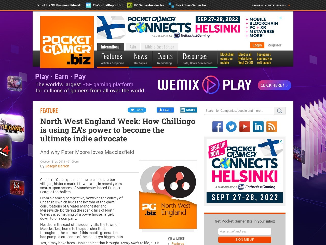 North West England Week: How Chillingo is using EA's power to become the …