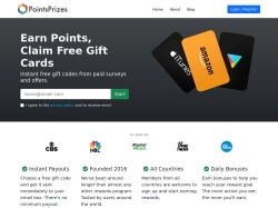Pointsprizes coupon codes December 2018