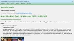 www.pokemonexperte.de Vorschau, Der Pokemonexperte