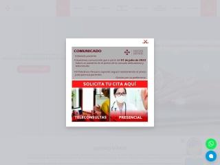 Captura de pantalla para policlinicoperuanojapones.org