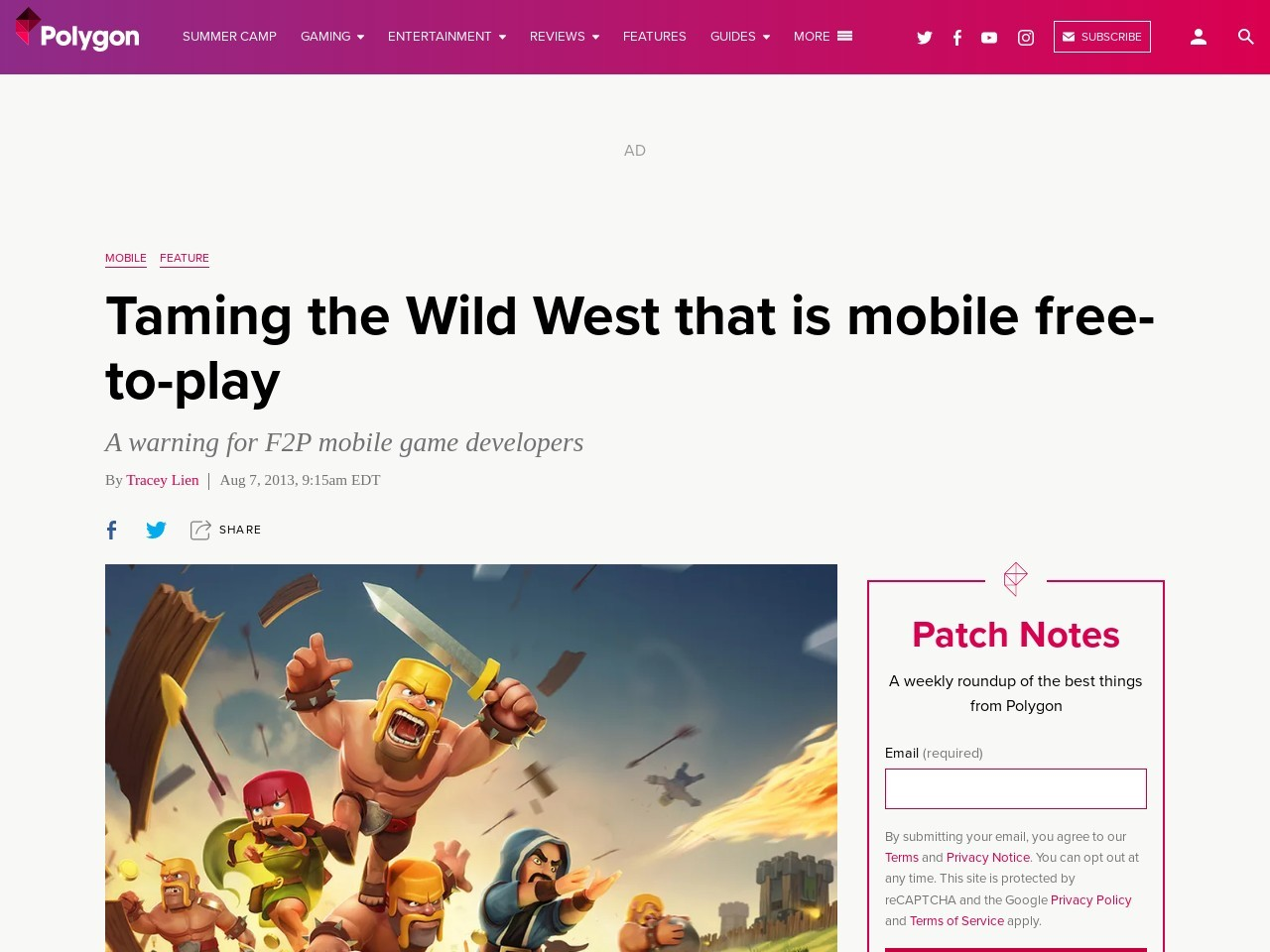 Taming the Wild West that is mobile free-to-play