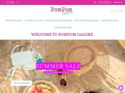 Pompomgalore.co.uk coupon codes March 2019
