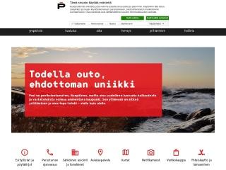 Screenshot for pori.fi