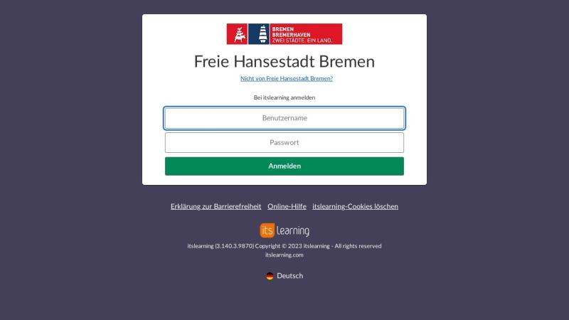 www.portal.schule.bremen.de Vorschau, Schulen-Arbeitsplattform