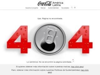 Captura de pantalla para powerade.com.ec