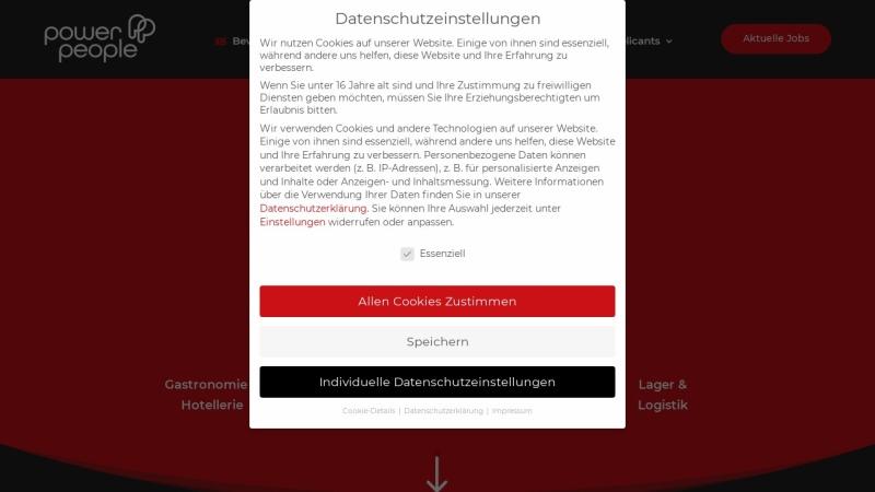 www.pp-personal.de Vorschau, power people GmbH