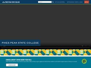 Screenshot for ppcc.edu