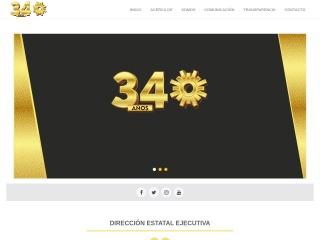 Captura de pantalla para prdmichoacan.org.mx