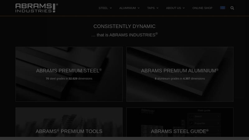 www.premium-stahl.de Vorschau, Abrams Premium Stahl