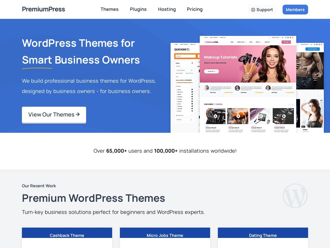 PremiumPress Micro Jobs Theme