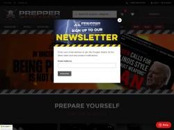 Prepper gun shop