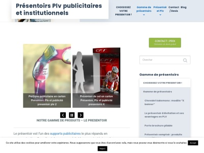 Presentoir-plv.fr : Presentoirs en carton