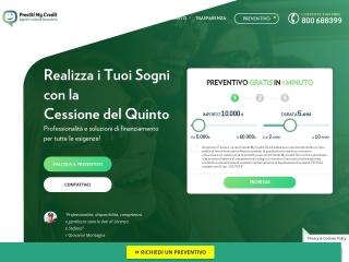 screenshot prestitimycredit.it
