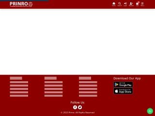 Screenshot for prinro.co.za
