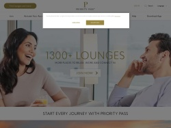 Priority Pass screenshot