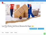 Low Price Packers And Movers Ramamurthy Nagar| Open now