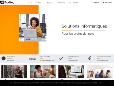 Prodilog : solutions informatiques pour entreprise