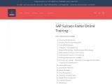 Join SAP Success Factor  E-training