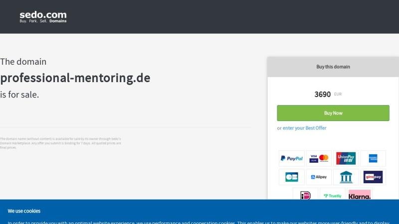 www.professional-mentoring.de Vorschau, Professional-Mentoring - Business Mentoring und Mentoren-Ausbildung