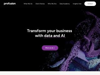 Screenshot for profusion.com