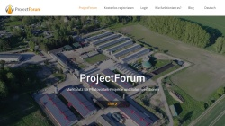 www.project-forum.biz Vorschau, Project Forum 4t2 GmbH