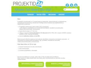 Screenshot for projektid24.ee