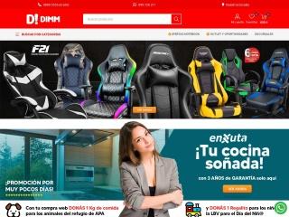 Captura de pantalla para promocionesdimm.com.uy