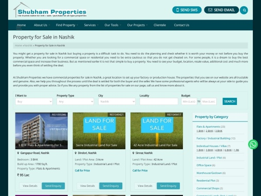Commercial Properties For Sale In Nashik