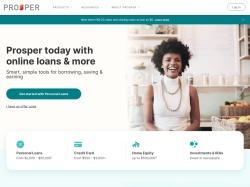 Prosper.com screenshot