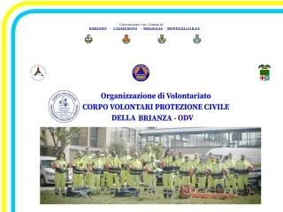 screenshot protezionecivilebrianza.com