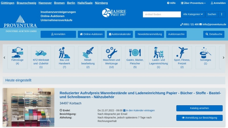 www.proventura.de Vorschau, Proventura GmbH