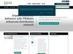Online Press Release Distribution Service | PRWeb