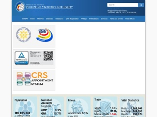 Screenshot para sa psa.gov.ph