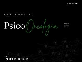 Captura de pantalla para psicooncologia.org