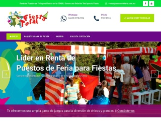 Captura de pantalla para puestosdeferia.com.mx