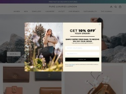 PURE LUXURIES coupon codes March 2018