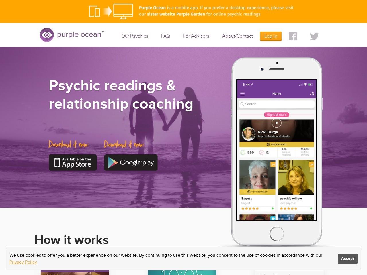 Psychic Amanda – Purple Ocean Psychic Reading By Amanda