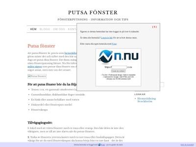 www.putsafonster.n.nu