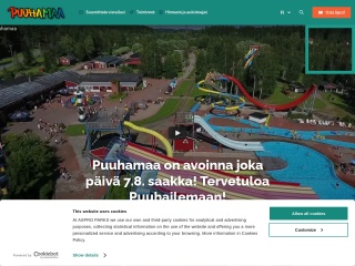 Screenshot for puuhamaa.fi