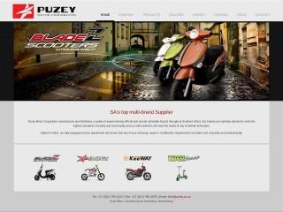 Screenshot for puzey.co.za