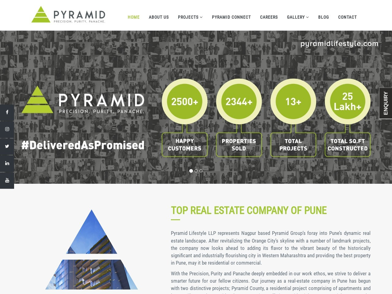 UpComing Commercial Complex In Baner-Pune   Pyramid Lifestyle