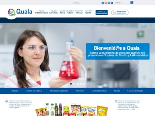 Captura de pantalla para quala.com.co