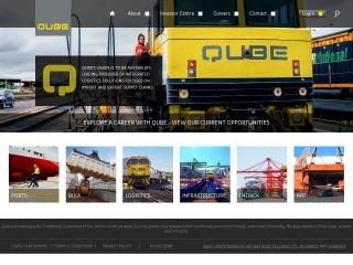 Screenshot for qube.com.au