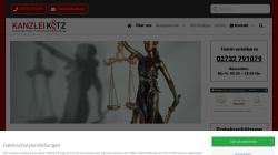 www.ra-kotz.de Vorschau, Rechtsanwälte Kotz GbR