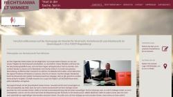 www.ra-wimmer.de Vorschau, Tom Wimmer Rechtsanwalt und Mediator, 93053 Regensburg