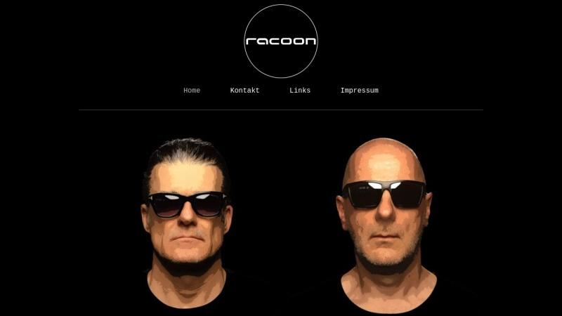 www.racoon-djs.de Vorschau, Racoon DJs