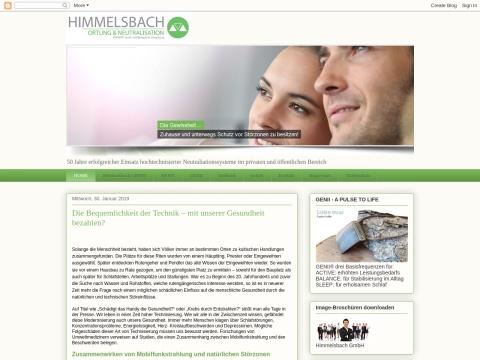 Himmelsbach GmbH - Spezialisten der Radiästhesie