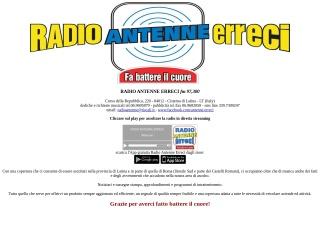 screenshot radioantenne.it