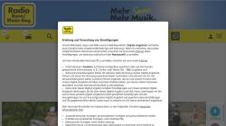 www.radiobonn.de Vorschau, Radio Bonn/Rhein-Sieg